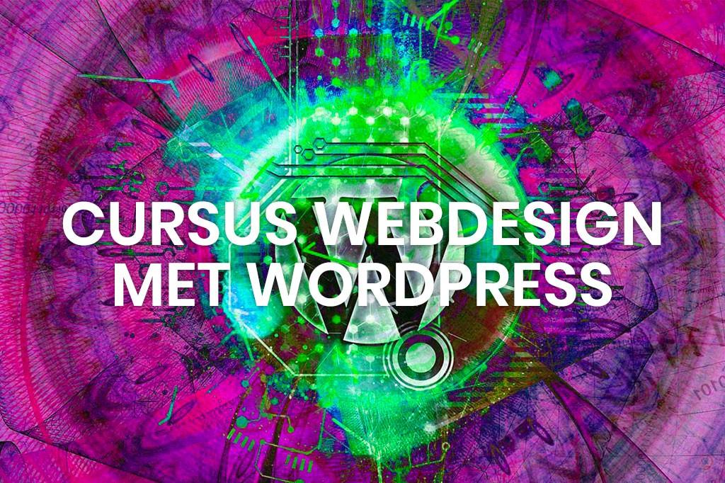 Cursus Webdesign met Wordpress & Joomla!